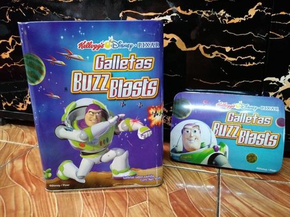 Lata De Galletas Buzz Blasts Vacía