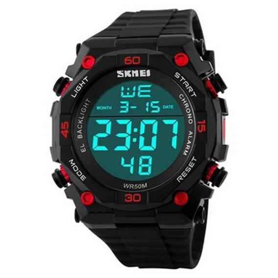 Relógio Masculino Skmei Digital Modelo 1130 Cor Preta Rf.001