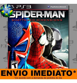 Ps3 Spider Man Shattered Dimensions Promoção Pronta Entrega
