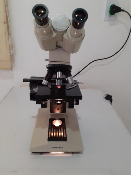 Microscopio Zeiss, Modelo Laboval 4