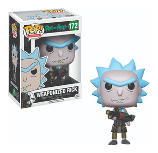 Funko Pop : Rick And Morty - Weaponized Rick #172