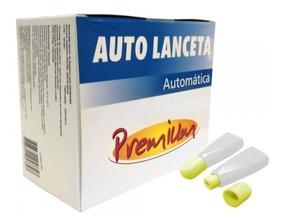 Auto Lanceta Premium Caixa C/ 100 Und.
