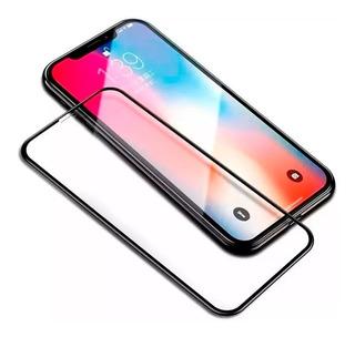 Vidrio Templado Glass 5d Full iPhone X Xr Xs Max