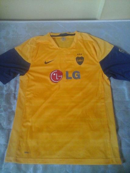Camiseta Entrenamiento Amarilla Boca Juniors 2011