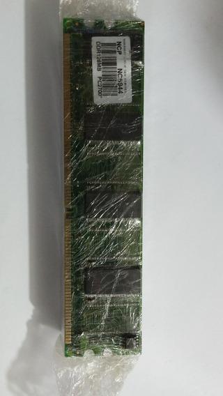 Lote 10 Memórias Desktop Pc Chip Ncp 128mb Ddr...#119