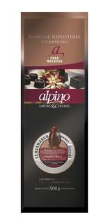 Chocolate Alpino Lodiser Tableta Por 500g Semiamargo Y Otros