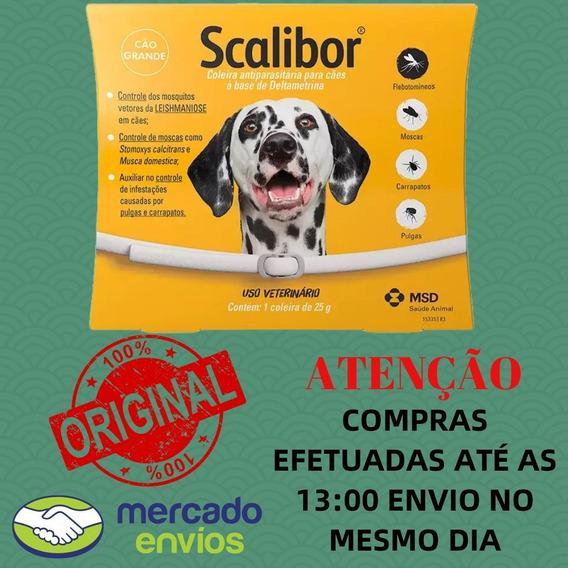 Coleira Msd Anti Parasitas Scalibor P/ Cães Tamanho - G
