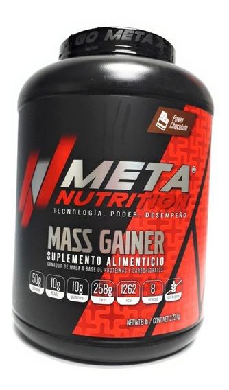Gainer Meta Nutrition Mass Gainer 6 Lbs Todos Los Sabores!
