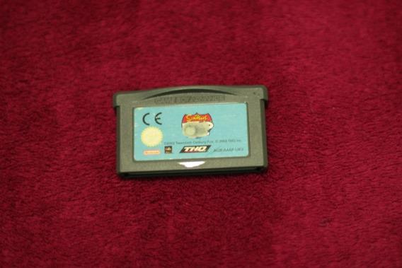 Jogo Simpsons Road Rage Game Boy Advance Original Gba