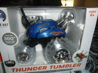 Thunder Tumbler Radio Control 360 Degree Rally Car (azul)