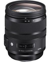 Lente Sigma Dg 24-70mm F/2.8 Os Hsm Arte Para Nikon