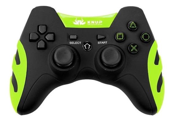 Controle joystick Knup KP-4032 verde