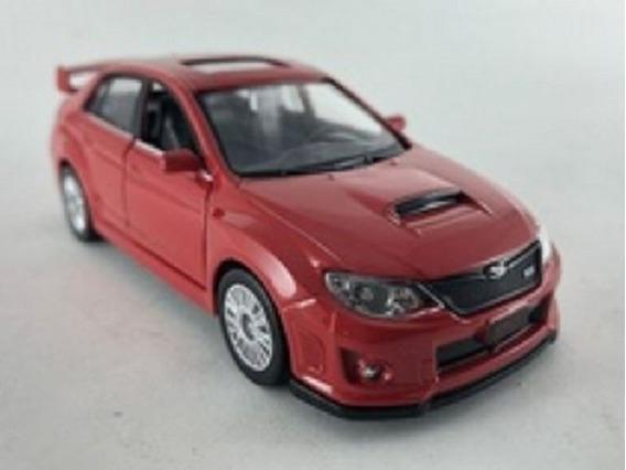 Miniatura 1:32 Subaru Wrx Verm- Luz/som-california