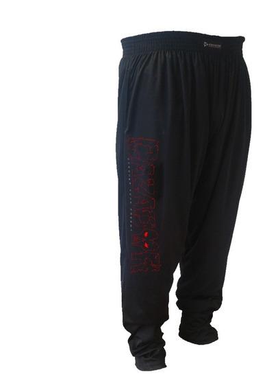Pantalon Baggy Microfibra Entrenamientos Gimnasio Genetic N1