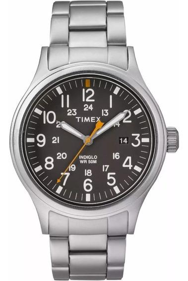Reloj Timex Tw2r46600 Original Para Caballero Acero Nuevo