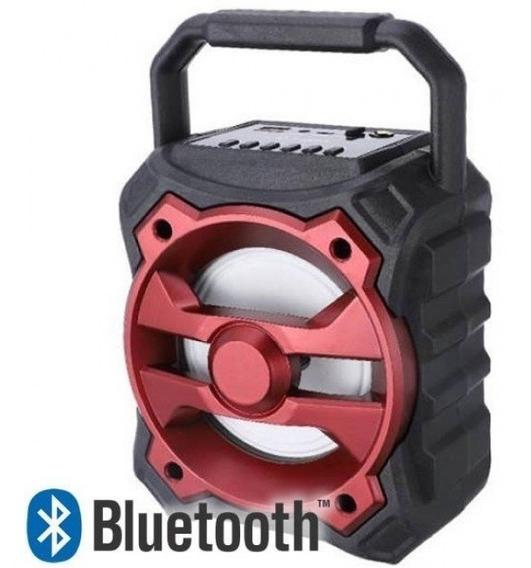 Caixa Caixinha De Som Bluetooth Mp3 Usb Cartao Fm + Brinde