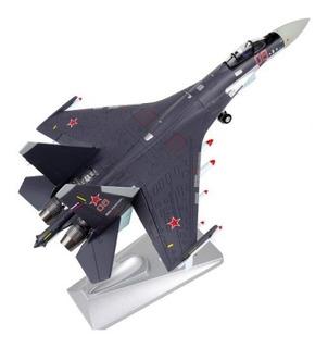 J Escala Avión Rusia Su-35 Flanker-e/super Metal (a Pedido)