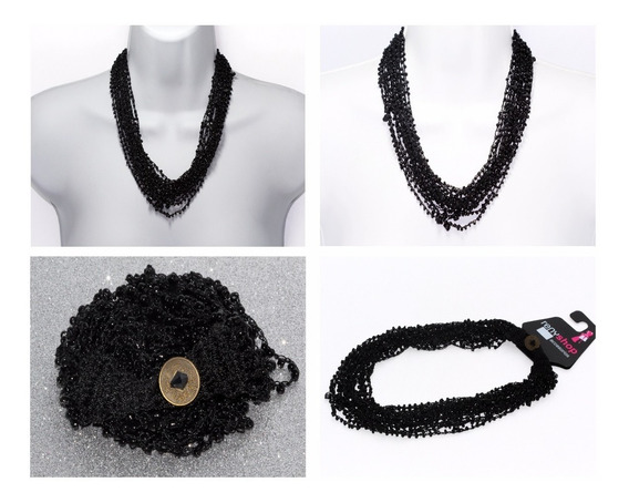 Collar Piedra Natural Tela Cuarzo Onix Bruto Chakas Ccpn162