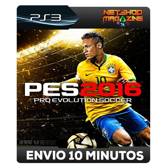 Pro Evolution Soccer 2016 - Pes 16 - Psn Ps3 - Português