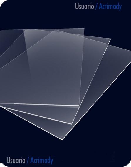 5 Placas De Acrílico 2mm Para Corte O Grabado Laser.