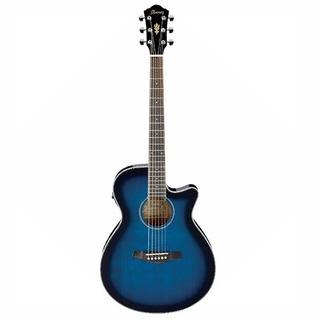 Guitarra Electroacustica Ibanez Aeg8e Tbs Transparent Blue