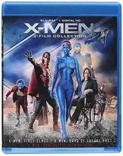 Blu-ray : X-men: First Class / Days Of Future Past (pan ...