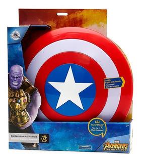 Escudo Capitan America Marvel Con Luz Y Sonido