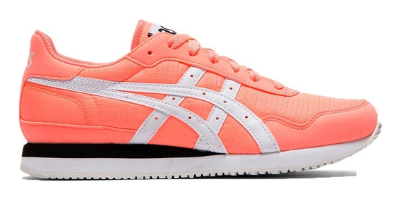 Asics Zapatillas Lifestyle Mujer Tiger Runner Coral-bco Fkr