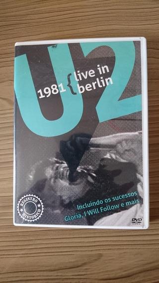 Dvd U2 Live In Berlin 1981 Original Registro Histórico!