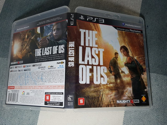 Jogo The Last Of Us Ps3