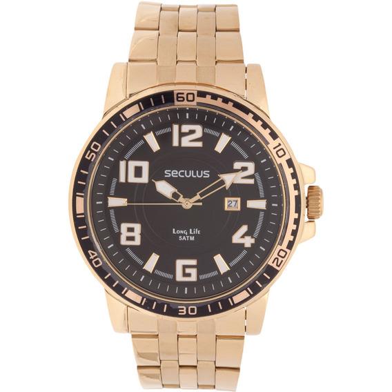 Relógio Seculus Masculino 28723gpsvda1