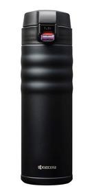 Garrafa Termica Kyocera Flip Top 500 Ml Cor Preta