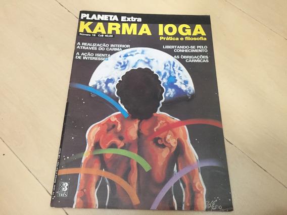 Revista Planeta Extra 18 Karma Ioga Signos Filosofia H751