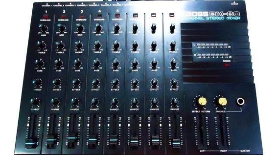 Mesa De Som Boss Mx-80
