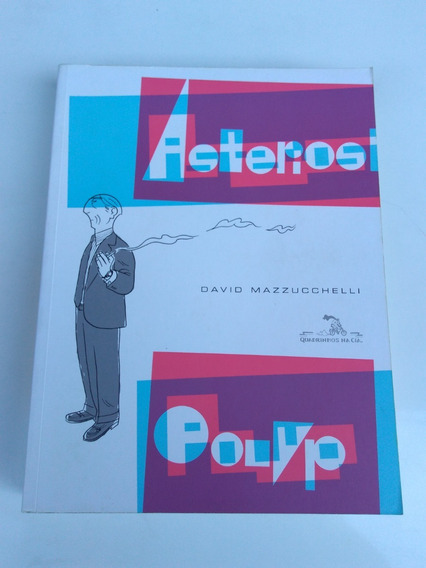 Astelios Polyp Livro Quadrinhos Hq - David Mazzucchelli