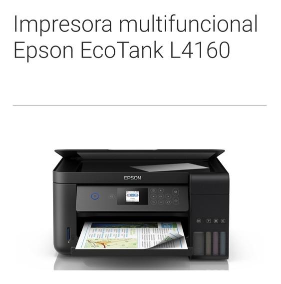 Nueva Impresora Multifuncional Epson Ecotank L4160
