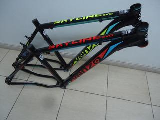 Bicicleta Mtb Venzo Skyline 29 21v Disco Talle 18 - Racer
