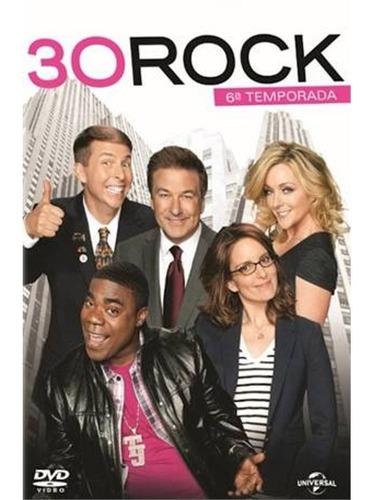 Dvd Box 30 Rock 6ª Temporada 3 Discos