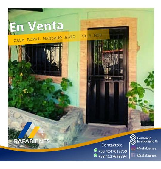 Casa Amoblada Manzano Alto Via Jaji 270 Metros Terreno