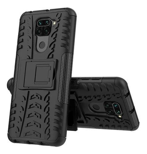 Estuche Protector Jkase Xiaomi Redmi Note 9 - Negro