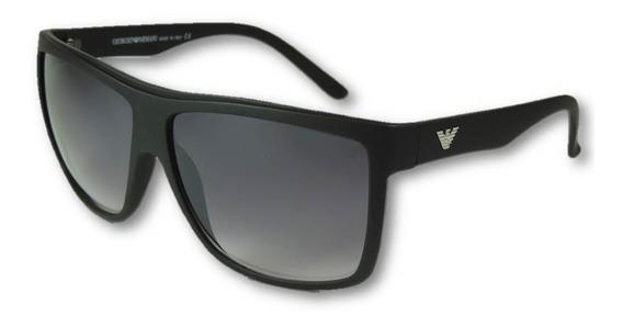 Oculos Armani Masculino Polarizado Modelo Grande 400uv Preto
