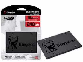 Hd Ssd 240gb Kingston A 400 - Sa400s37/240g - Novo Modelo