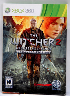 Xbox The Witcher2 Assassins Of King Enhanced Edition 3 Cd