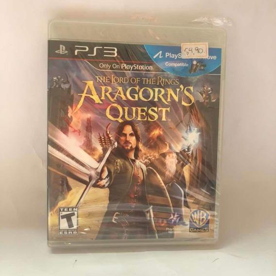 Jogo Lord Of The Rings Aragorns Quest Ps3 Mídia Física