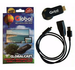 Receptor Hdmi Streaming Global Cast Tv Hdmi Wifi