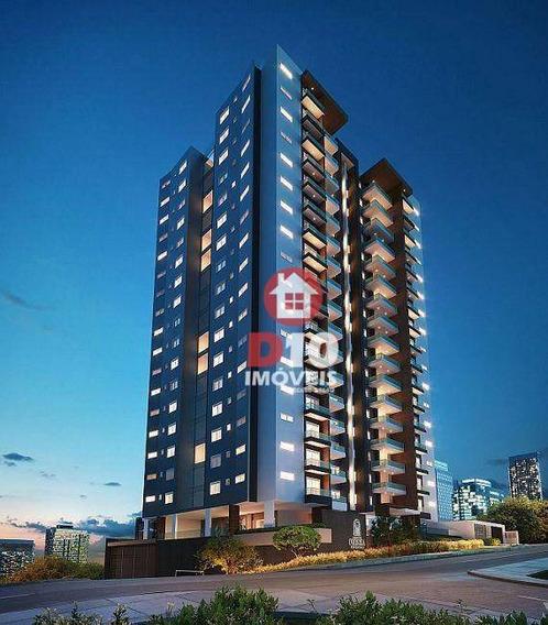 Apartamento Com 3 Dormitórios À Venda - Centro - Criciúma/sc - Ap1249