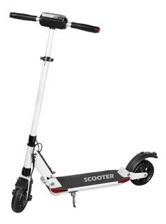 Scooter Patín Eléctrico e Scooter Blanco