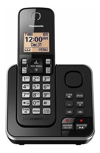 Imagen 1 de 2 de Teléfono inalámbrico Panasonic KX-TG633 negro