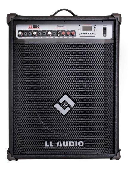 Caixa Amplificada Multi Uso Ll200bt Usb Bluetooth Fm