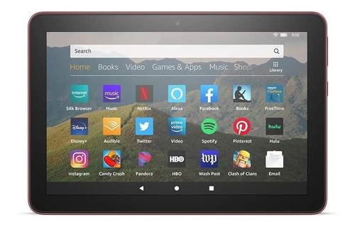 "Imagen 1 de 2 de Tablet  Amazon Fire HD 8 2020 KFONWI 8"" 32GB plum con 2GB de memoria RAM"